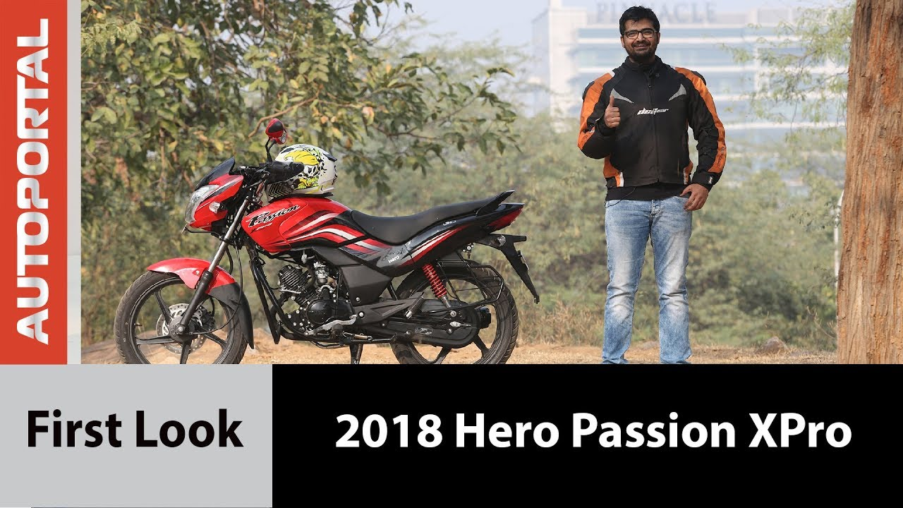 2018 Hero Passion XPro – First Ride Review – Autoportal