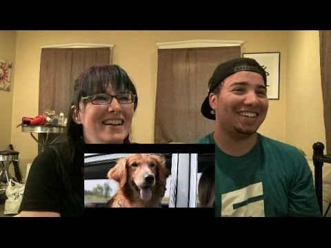 MOM & SON REACTION TO! A Dog's Purpose Official Trailer 2017