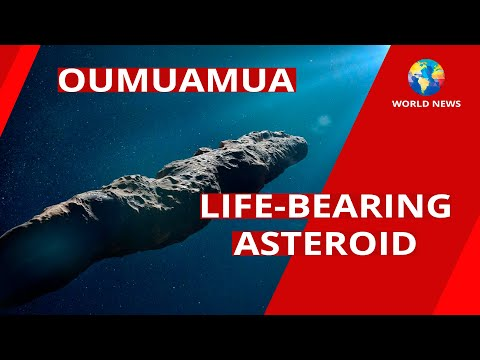 An Asteroid Sowing Life in Space / Oumuamua / NASA / World News