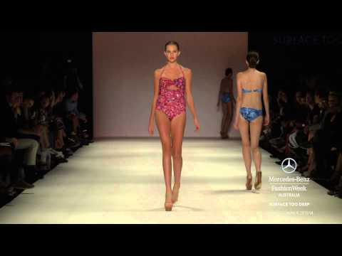 SURFACE TOO DEEP - MERCEDES-BENZ FASHION WEEK AUSTRALIA SPRING SUMMER 2013/2014 COLLECTIONS