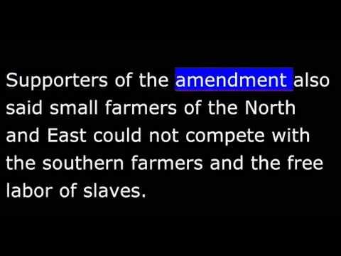 American History - Part 047 -  Monroe Doctrine - Missouri Compromise