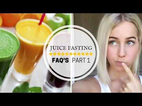 Juice Fasting FAQ'S ☆ Part 1