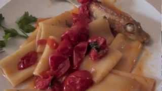 Paccheri with Gurnard Fish Recipe
