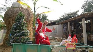 Tam Mao TV Chế Xe Tuần Lộc Cực Hài Đi Phát Quà Giáng Sinh ( Christmas gifts )