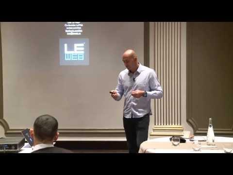 Tendances de la Silicon Valley et conference de presse LeWeb'13 Paris [HD]