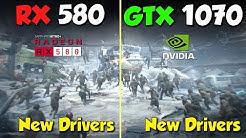 RX 580 vs. GTX 1070   in 2020