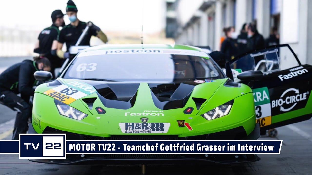 MOTOR TV22: Teamchef Gottfried Grasser von GRT Grasser Racing im Interview