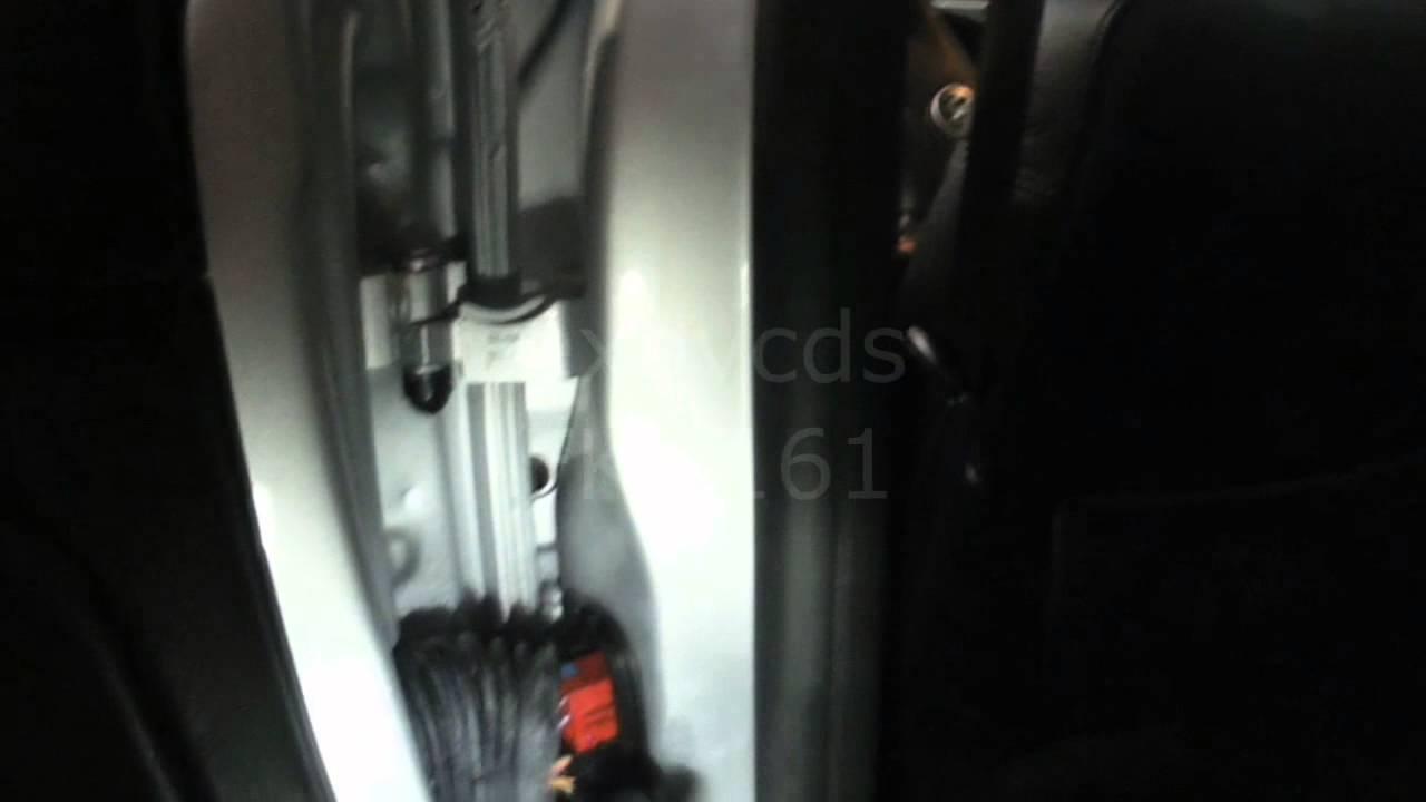 vw b5 passat left rear door lock module actuator not working youtube [ 1280 x 720 Pixel ]