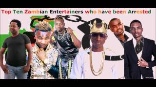 Zambian Musicians Who Have Been To Jail