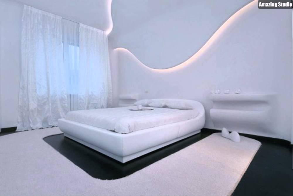 Incroyable Futuristic Bedroom Design