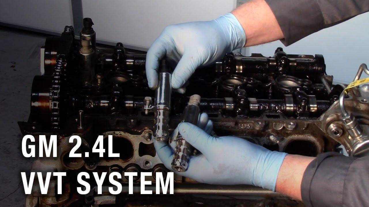 hight resolution of gm 2 4l vvt system