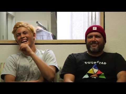 On the Crail Couch with Diego & Rudy Johnson