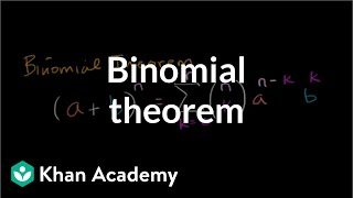 Binomial theorem | Polynomial and rational functions | Algebra II | Khan Academy