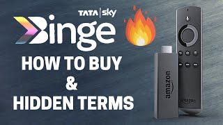 Tata Sky Binge- Hidden T&C and How to Buy!