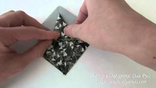 Коробочка Звезда оригами | Как сделать Коробку(Подробнее о Коробочке: http://www.olyaruss.com/view_post.php?id=293., 2012-12-13T09:09:41.000Z)