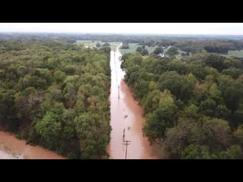 Hurricane Florence flooding in Union County, NC