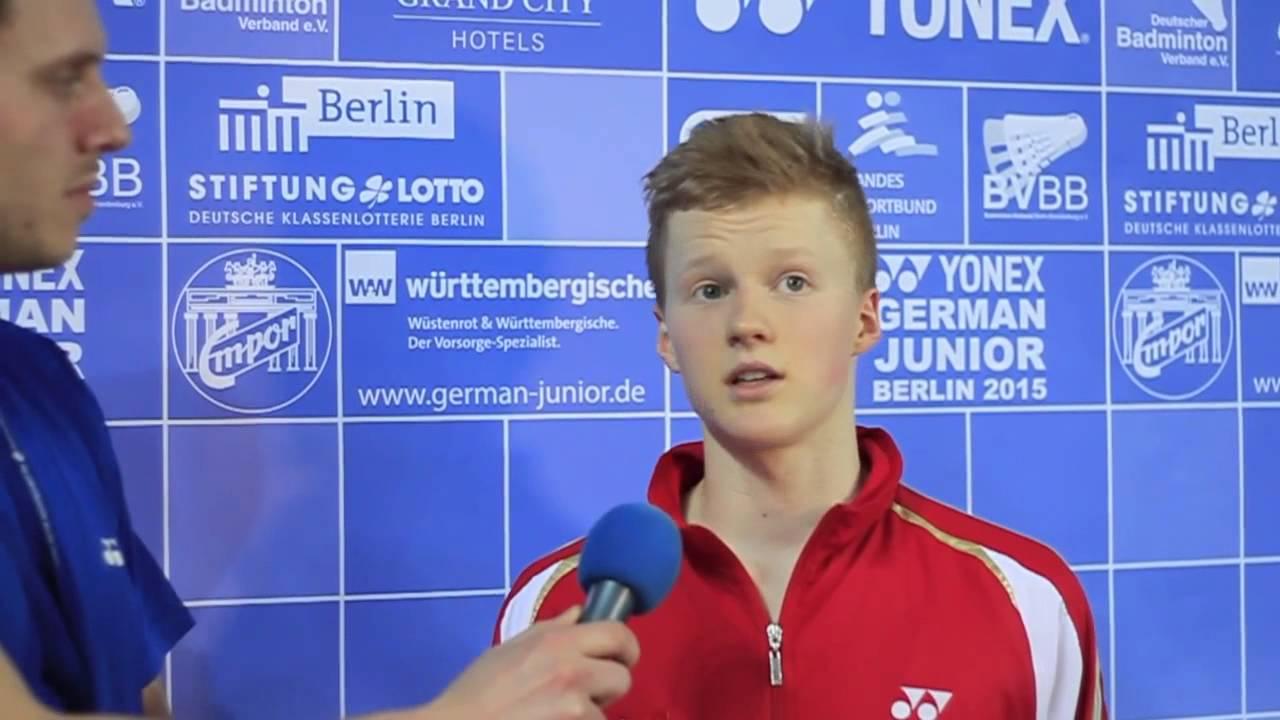 GJTV 2015 Interview Anders Antonsen DEN