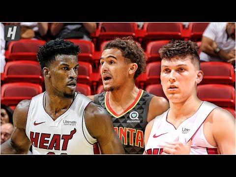 Atlanta Hawks vs Miami Heat - Full Game Highlights | October 14, 2019 | 2019 NBA Preseason