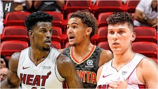 Atlanta Hawks vs Miami Heat - Full Game Highlights | October 14, 2019 | 2019 NBA Preseason