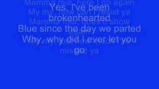ABBA - Mamma Mia Lyrics