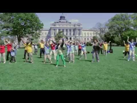 """North Carolina """"Happy"""" Dances for Libraries at NLLD14"""