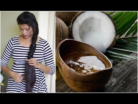 DIY Homemade Natural Coconut Shampoo For Dry, frizzy Hair | Sushmita's Diaries