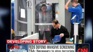 Ron Paul Debates TSA Screenings - CNN 11/19/10