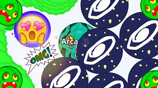 Agar.io World Record Highest Score Solo 50K+ And Epic Revenge! (Agario Best Moments)
