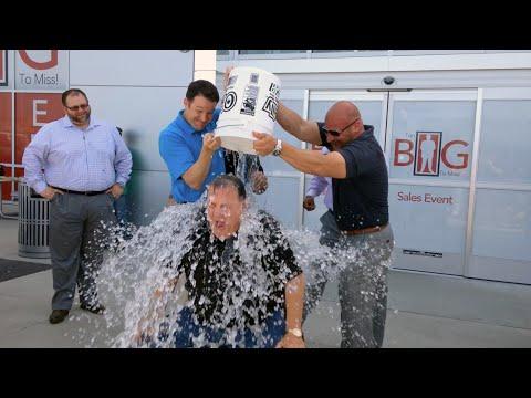 ALS Ice Bucket Challenge   Steve Landers Chrysler Dodge Jeep Ram