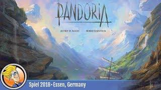 Pandoria — game overview at SPIEL '18