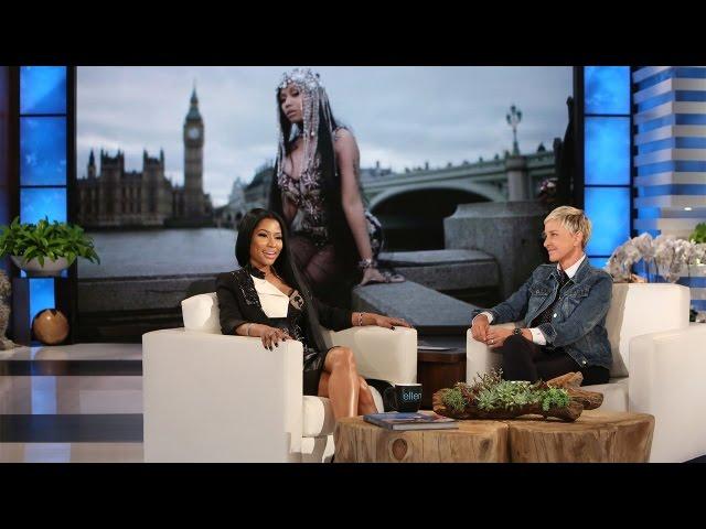 Nicki Minaj Introduces Ellen To The Rap Game Youtube
