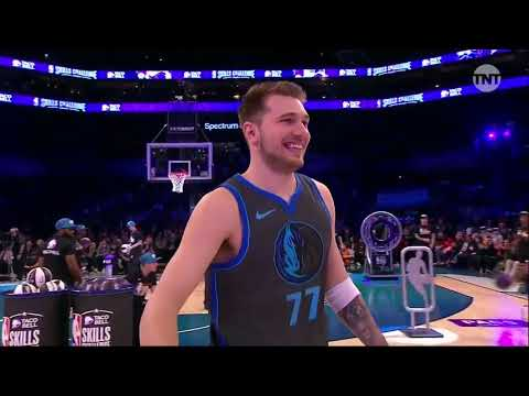 NBA Skills Challenge! Tatum vs Doncic vs Fox vs Kuzma vs Jokic vs Young! 2019 NBA All Star Weekend