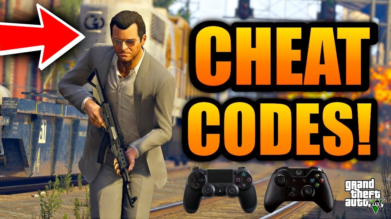 Gta 5 All Cheat Codes Ps4 Xbox One Cheats Grand Theft Game Auto V Youtube