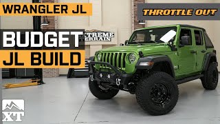 Lifted Jeep Wrangler JL Budget Build 🚙   Daily Driven Custom Jeep Wrangler JL Build - Throttle Out