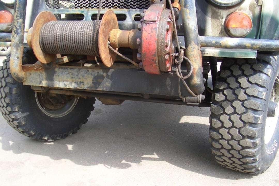 Механическая лебёдка на Уаз. DRIVE 2 95