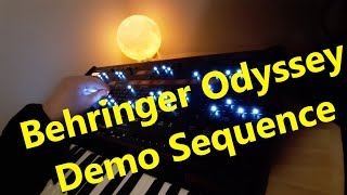 Behringer Odyssey Paraphonic Demo Sequence