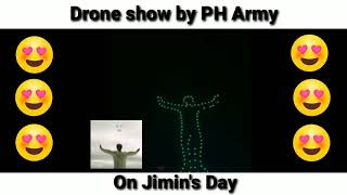 Gambar cover WOW😍 Drone show for BTS' Jimin's B-day!!!
