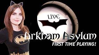 Continuing Arkham Asylum