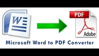 80. Free Word to PDF μετατροπή Word σε PDF !
