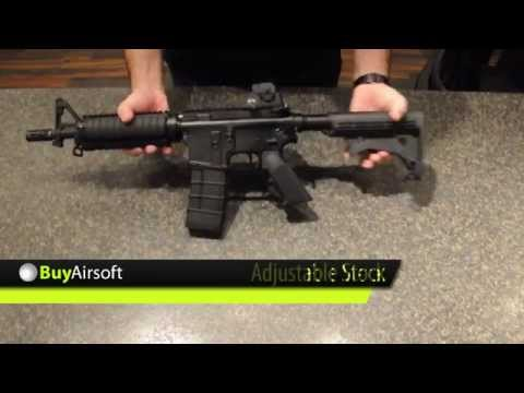 BuyAirsoft.ca Overview Video for the KJW M4 CQB GBB-R Full Metal
