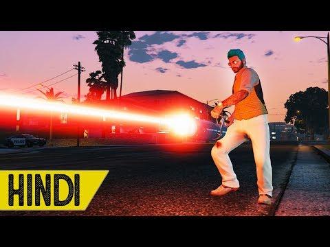 *LASER* WALLI MINI GUN RAAT MAIN??? | GTA 5 Online thumbnail