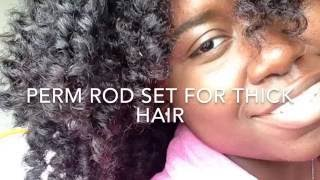 THE DO's and DON'Ts of PERM ROD SET ON THICK HAIR