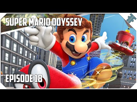 "Super Mario Odyssey - E18 - ""The Underwater Sphynx!"""