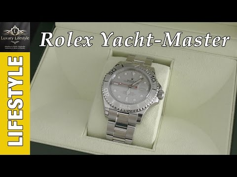 Rolex Yacht-Master 116622 Platinum Watch Review #Rolex