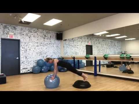 BOSU® Balance Trainer & Ballast® Ball Core Combos