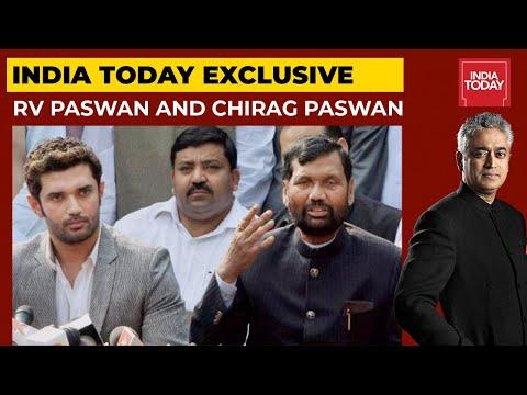 Ram Vilas Paswan And Chirag Paswan Exclusive With Rajdeep Sardesai| India Today India Tomorrow