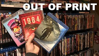 My Out Of Print (OOP) Blu-ray Collection | Scream Factory, Steelbooks, and More!