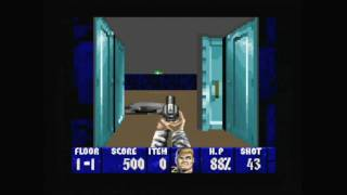 CGR Undertow - WOLFENSTEIN 3D for Super Nintendo Video Game Review