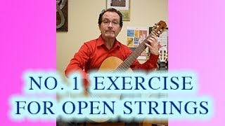 BEST Exercise for Open Strings (Part 2) - Classical Guitar