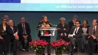 Discours de Christiane Taubira à Créteil